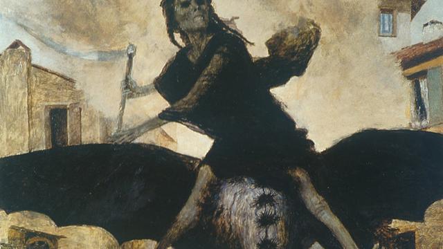 Arnold Böcklin: Die Pest (1898) im Kunstmuseum Basel.