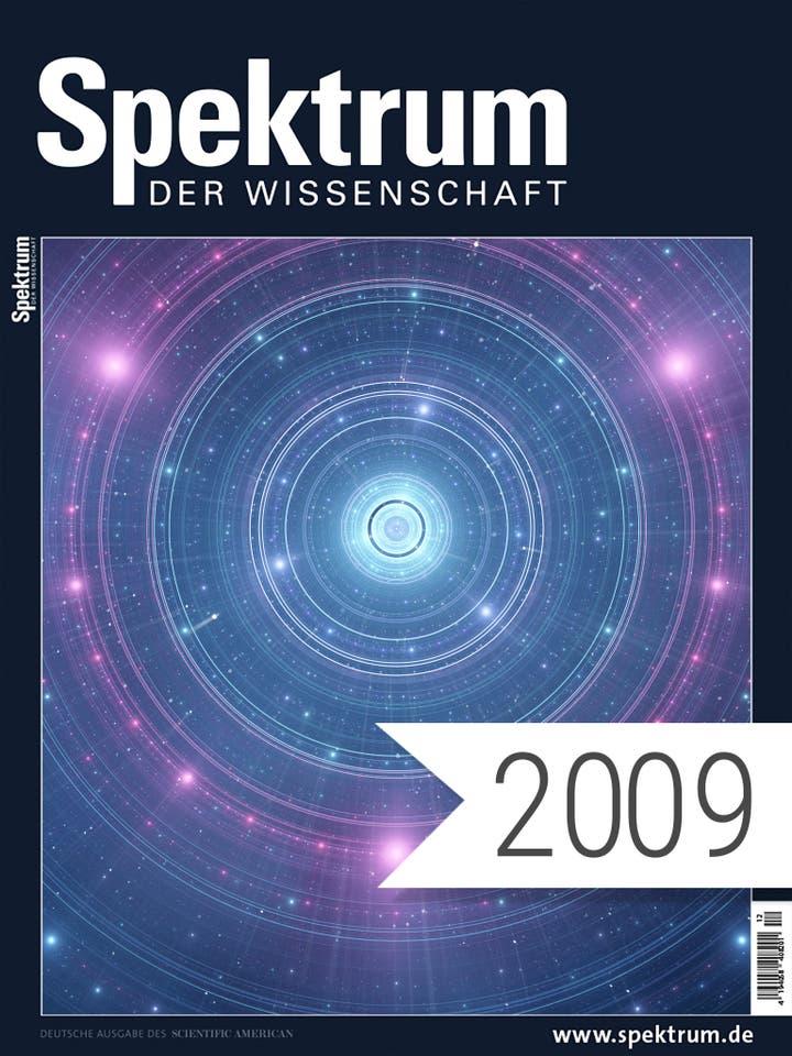 Digitalpaket Spektrum der Wissenschaft Jahrgang 2009_Teaserbild