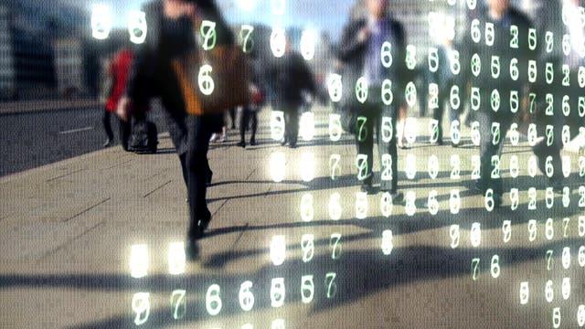 Digitalisierte Menschen