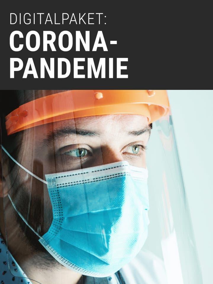 Digitalpaket: Corona-Pandemie Werbebild