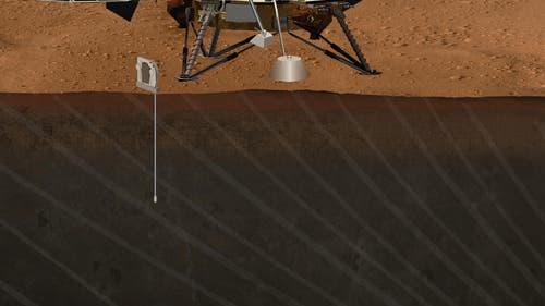 Geophysical Monitoring Station für den Mars