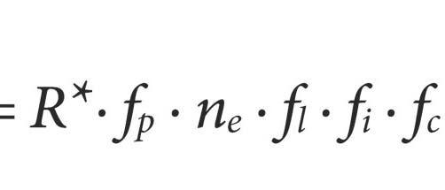 Die Drake-Gleichung