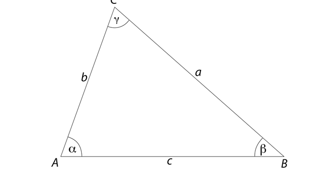 Dreieck, Winkel