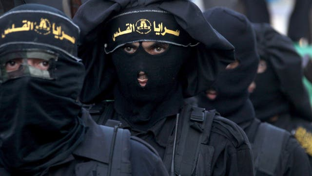 Dschihadisten paradieren