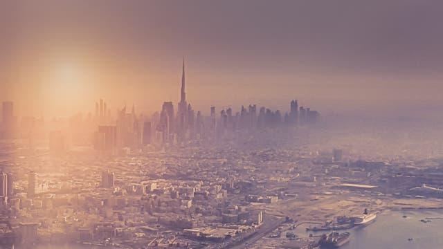 Hitzewelle in Dubai