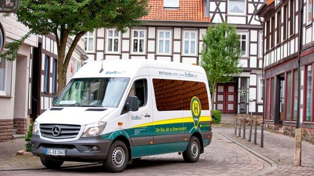 Ein Ecobus im Einsatz