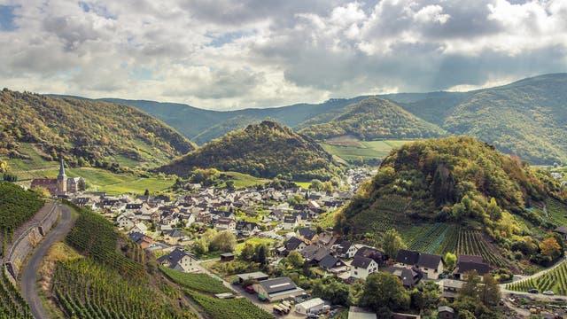 Mayschoß in der Eifel