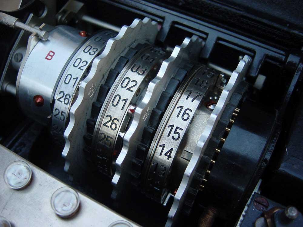 Chiffriermaschine Enigma