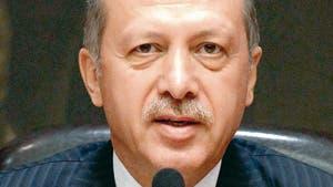 der türkische Politiker Erdogan