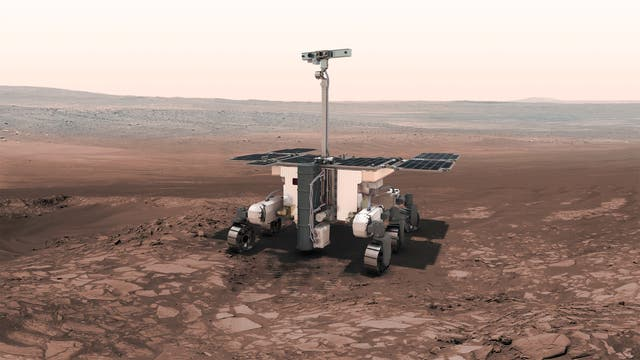Vision des ExoMars-Rovers