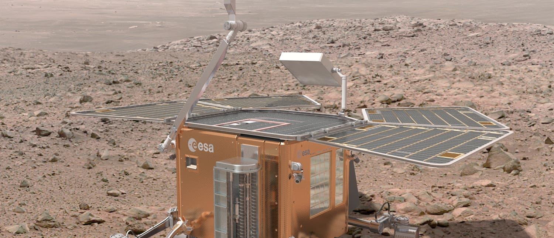 Exomars-Rover: Ein flüchtiger Entwurf?