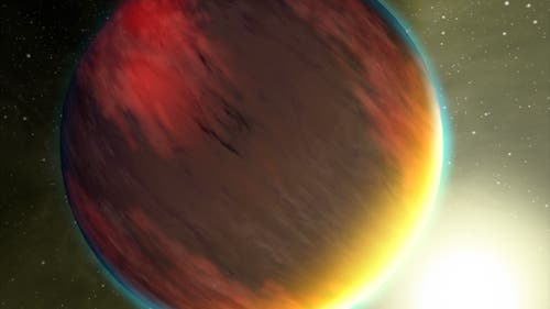 Jupiter im Umlauf um die Sonne
