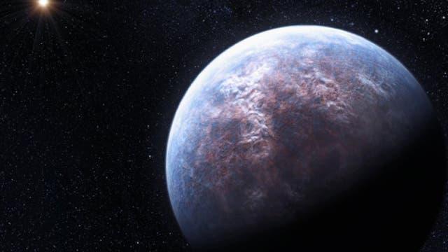 Ein erdähnlicher Gesteinsplanet