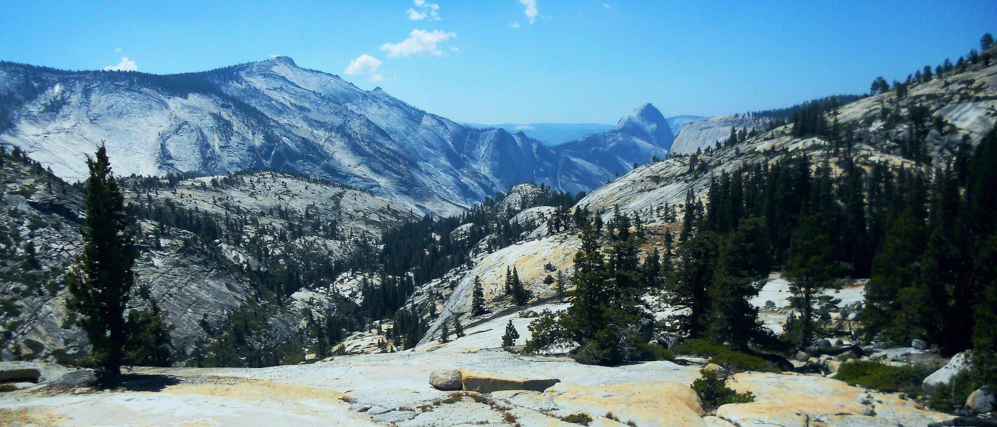 Half Dome in Sierra Nevada