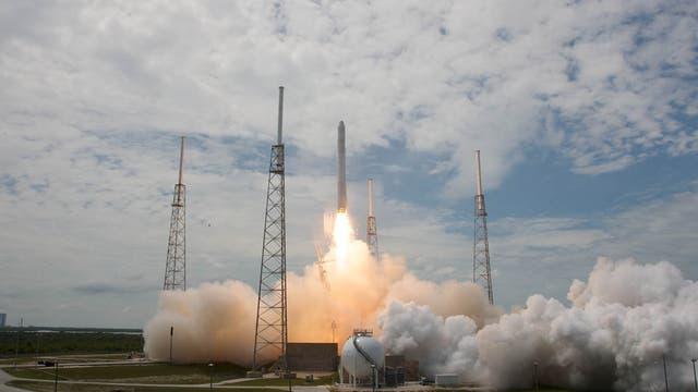 Falcon 9 beim Start