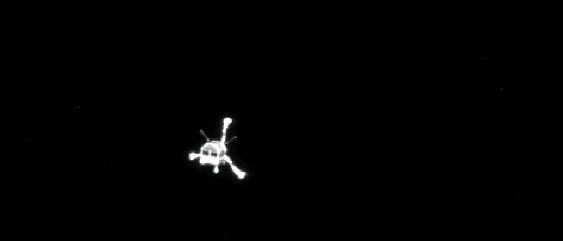 Rosetta schießt Abschiedsfoto von Philae