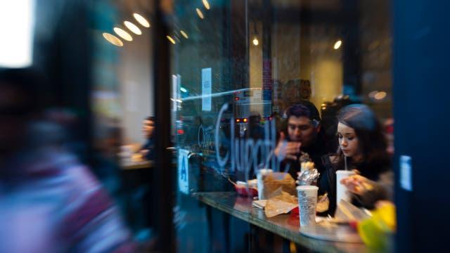 Abstecher zum Fastfood-Restaurant