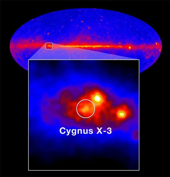 Cygnus X-3 im Gammabereich