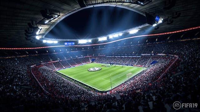 Fußballstadion in Fifa 19