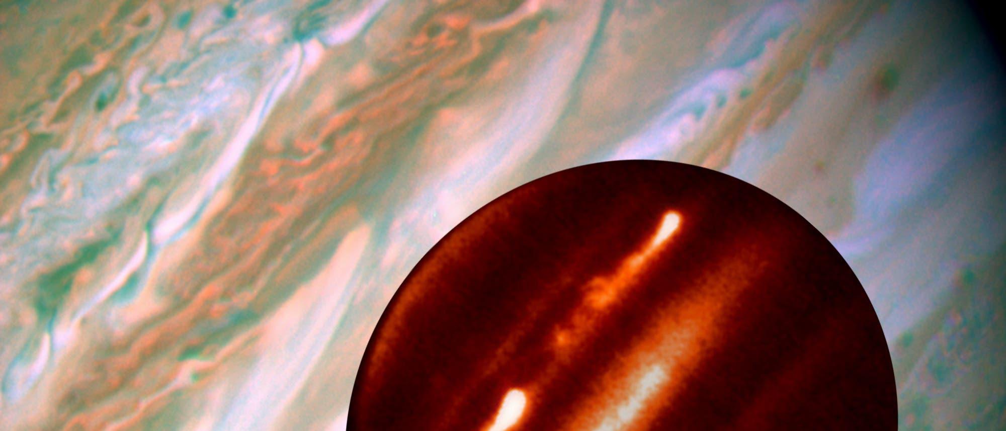 Turbulenzen auf Jupiter