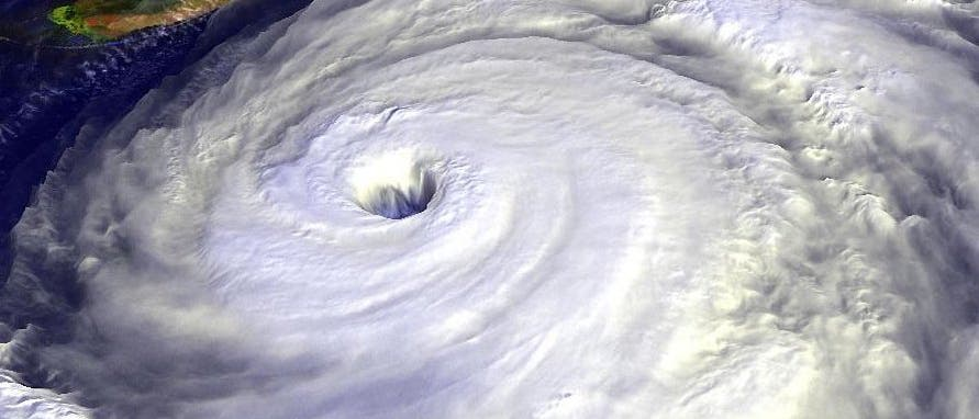 "Hurrikan ""Floyd"""