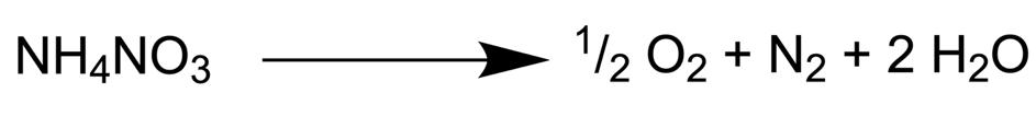 Formel Ammoniumnitrat
