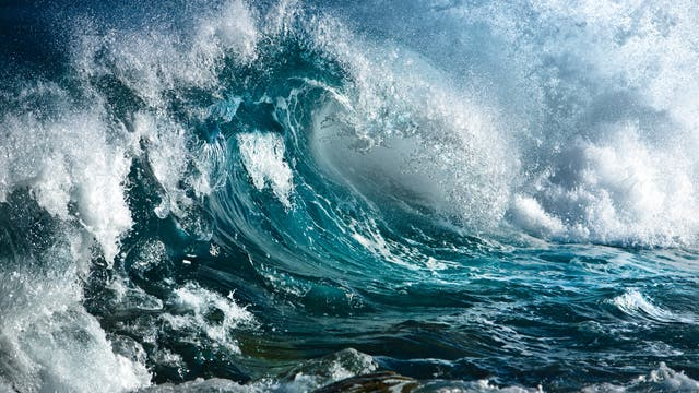 Welle im Meer (Symbolbild)