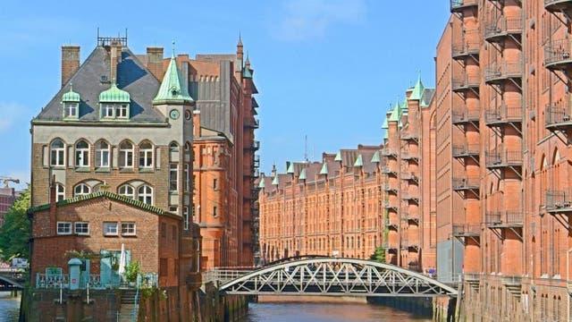 Hamburgs Speicherstadt