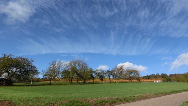 Streifige Wolken am Himmel können einem echt den Tag verderben