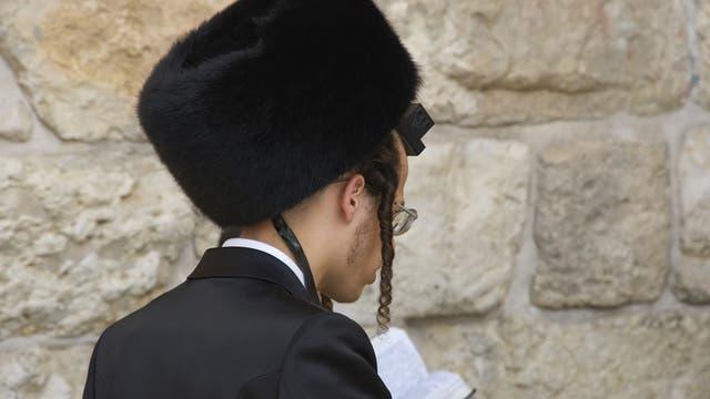 Haredim an der Klagemauer