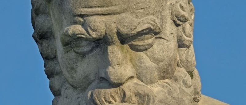 Denkender Sokrates