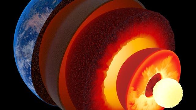 Das Innere der Erde