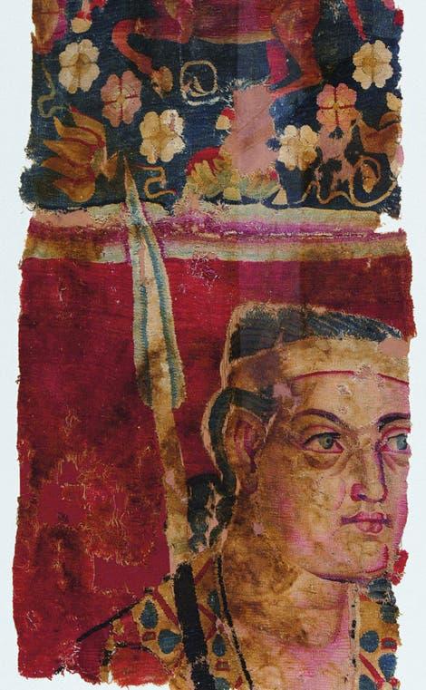 Zur Hose umgestalteter Wandbehang
