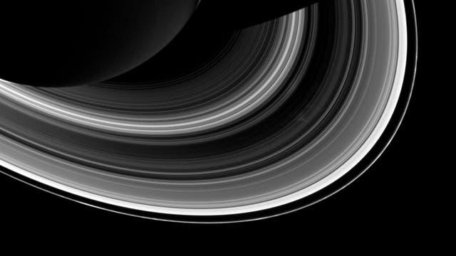 Ringsystem um Saturn