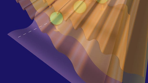 Ionen unter Laserbeschuss