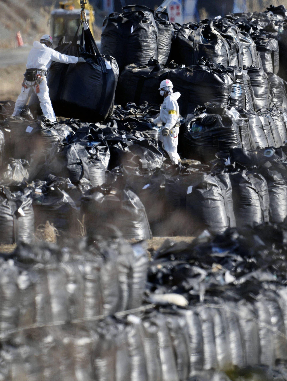 Müllbeseitung in Fukushima