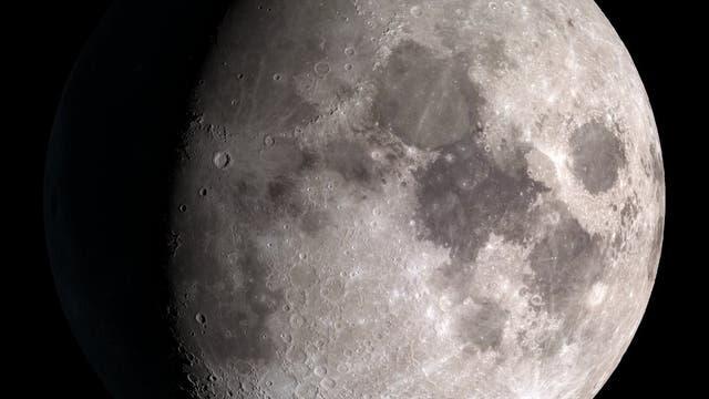 Der Mond, gesehen vom Lunar Reconnaissance Orbiter.