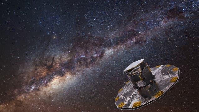 Gaia und Milchstraße
