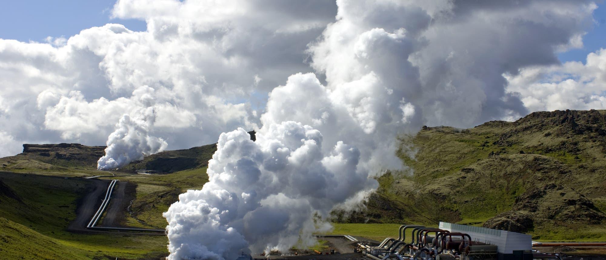 Geothermie in Reykjavik