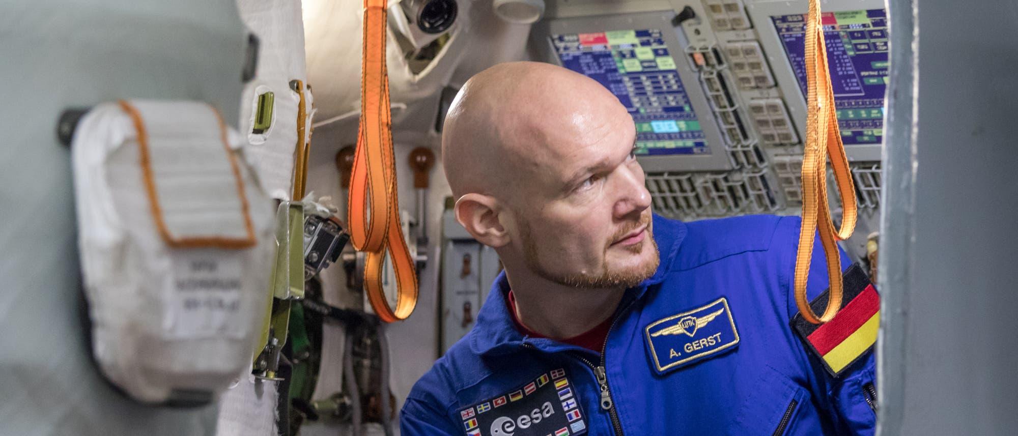 Kosmonaut Alexander Gerst