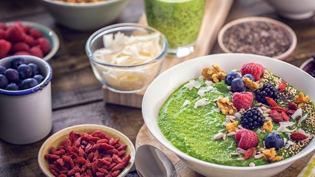 Superfood - oder einfach nur leckeres Obst, Gemüse und anderes Essen