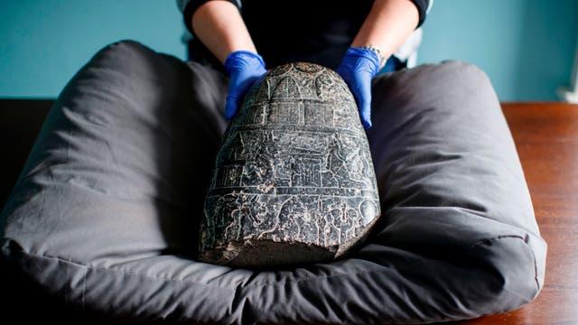 Illegal gehandelter Kudurru von Nebukadnezar I.