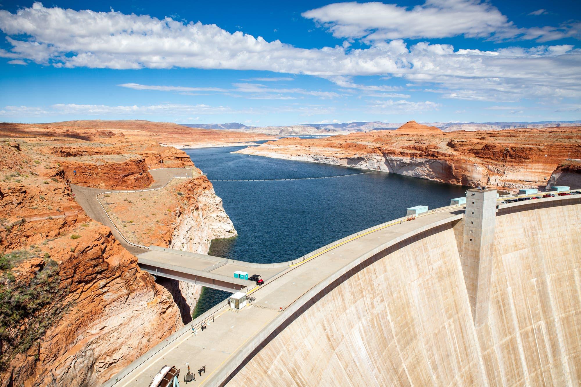 Glen-Canyon-Damm mit Lake Powell