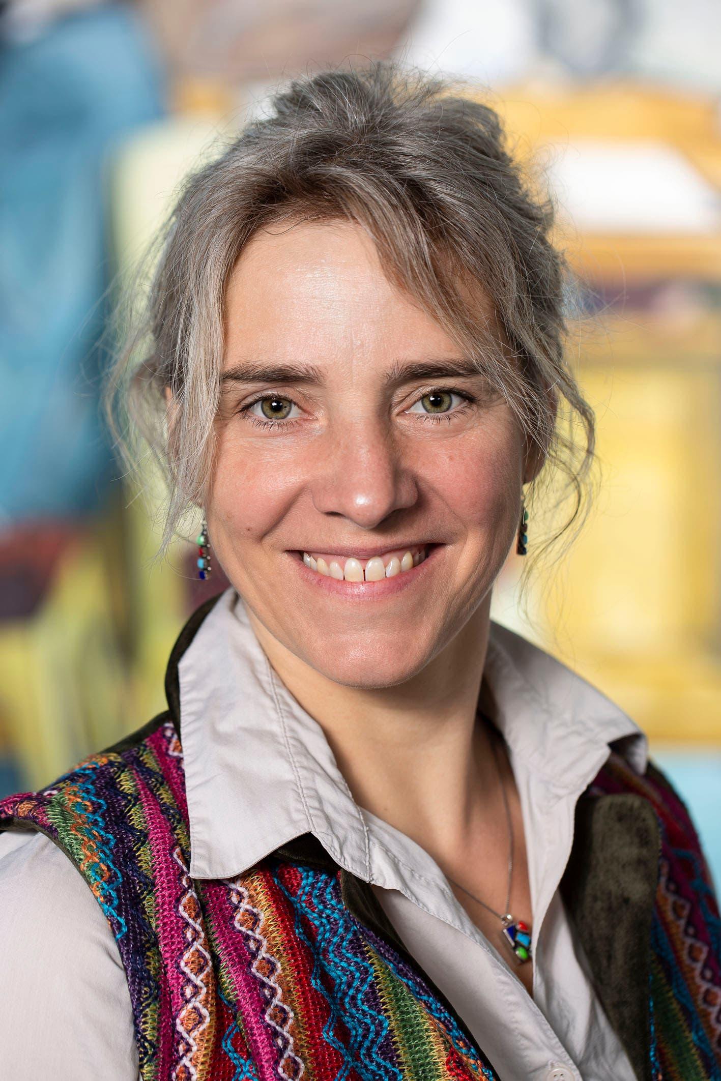 Anja Globig im Porträt.