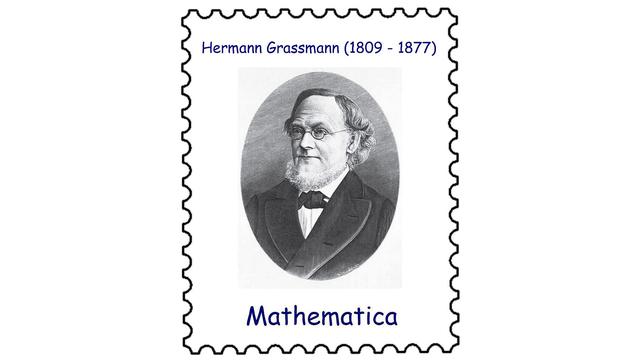 Hermann Graßmann (1809–1877)