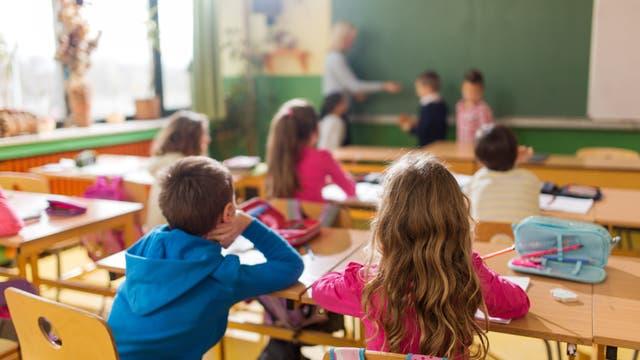 Klassenzimmer in einer Grundschule