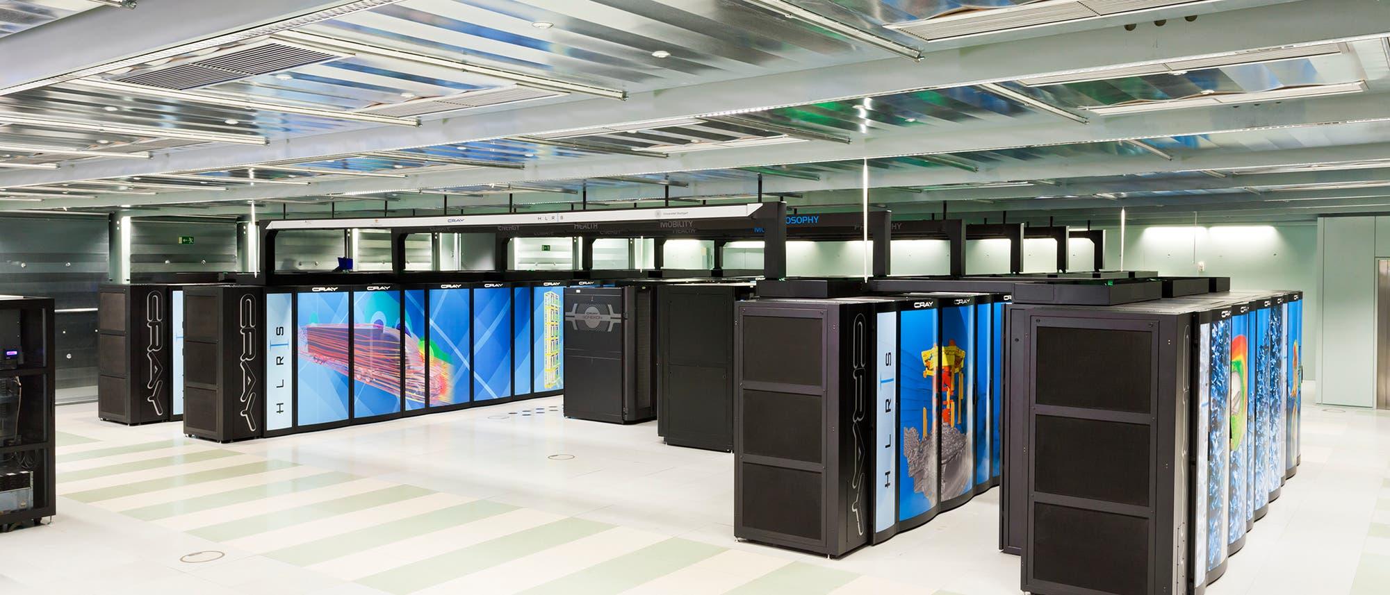 "Supercomputer ""Hazel Hen"" in Stuttgart"