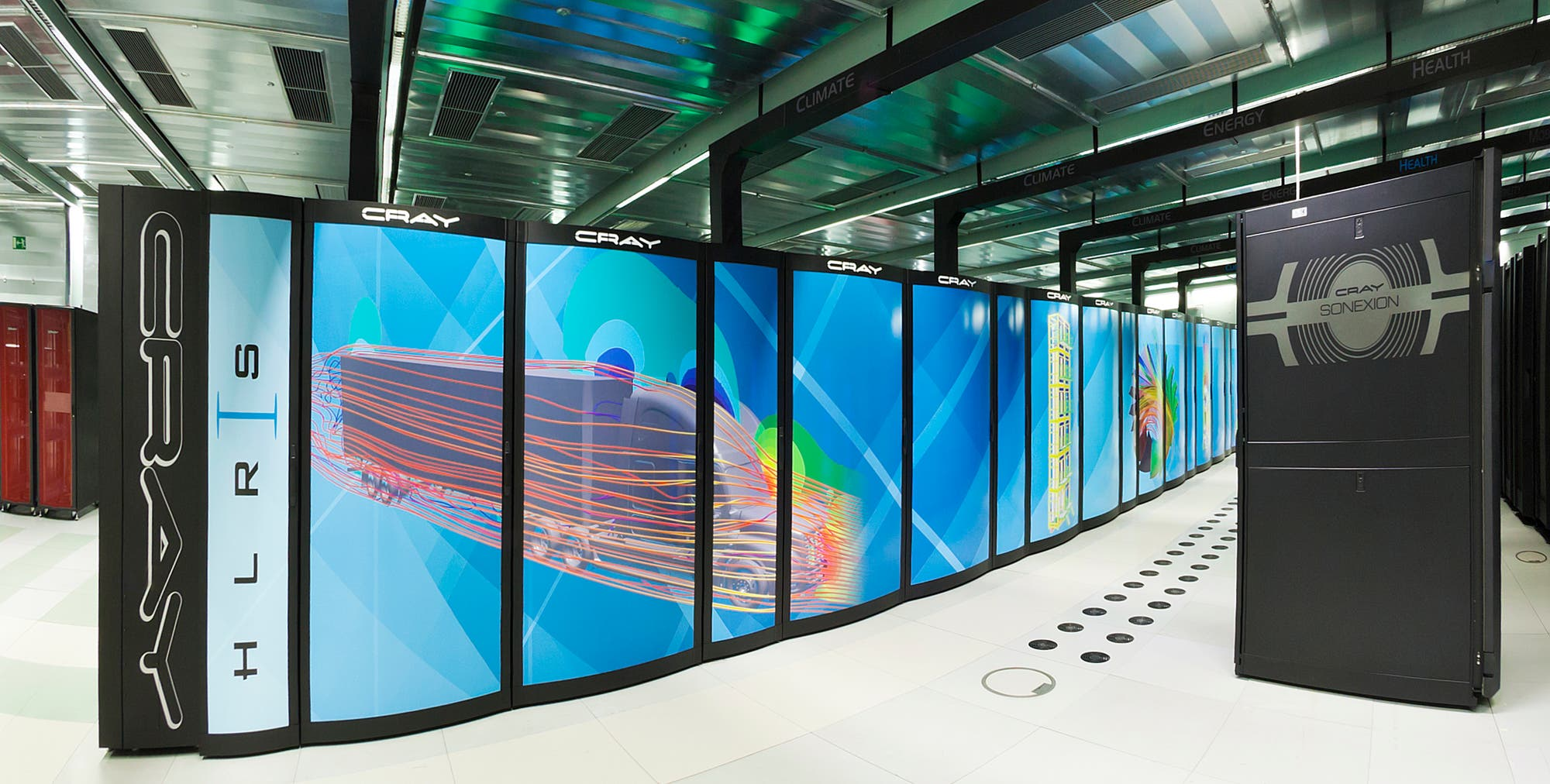 "Der Supercomputer ""Hazel Hen"" des HLRS"