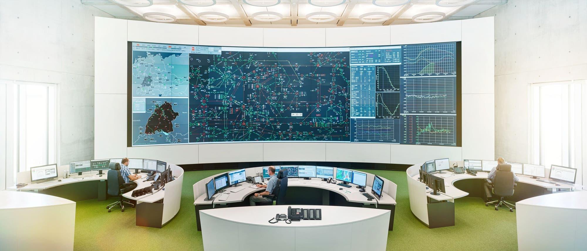 Von Wendlingen aus steuert TransnetBW sein gesamtes Netz