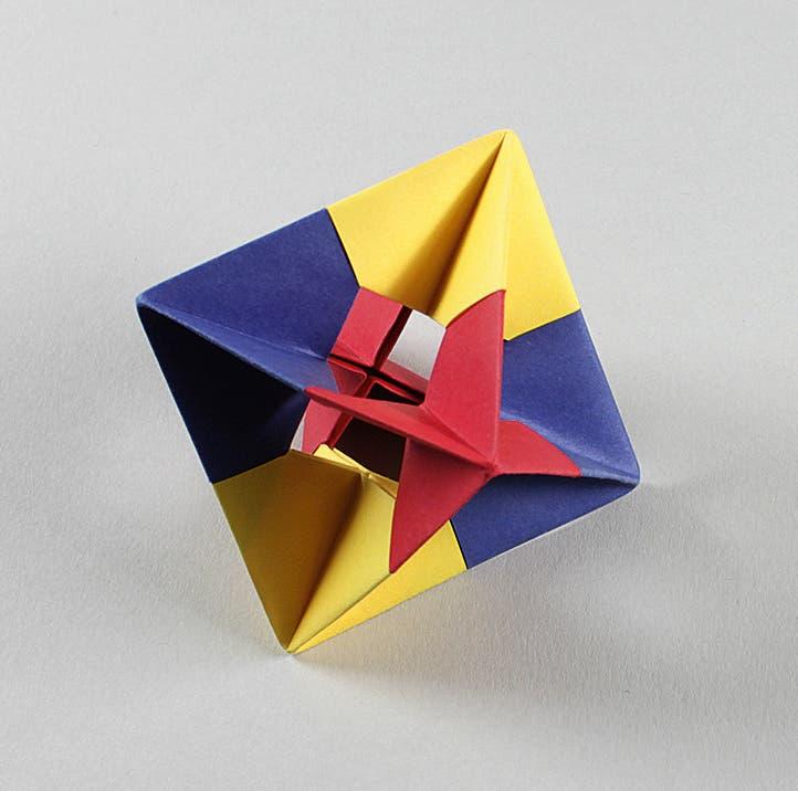 Oktaeder-Gerüst